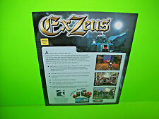 Tsunami EX ZEUS 2002 Original NOS Video Arcade Game Promo Sales Flyer TSUMO