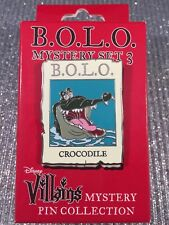 Disney Villains Be On the Look Out B.O.L.O. Tic Toc Cast Exclusive Pin 111789
