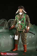 "DID 3R 1/6 Scale 12"" WWII Imperial Japanese Navy Zero Fighter Pilot JP628"