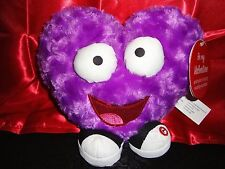 SUPER BASS NICKI MINAJ GEMMY PURPLE PLUSH STUFFED HEART SINGING DANCING TOY NEW!