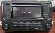 VW Car Stereo RCN210+BT CD USB AUX SD MP3 GOLF TOURAN TIGUAN JETTA PASSAT GG38-d