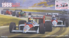1988 McLAREN-HONDA MP4/4s, BENETTON-COSWORTH  F1 Cover