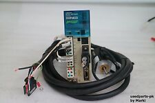 OMRON R7D-APA3H & R7M-A03030-S1 SMARTSTEP SERVO DRIVER & MOTOR & CABLE / VIDEO