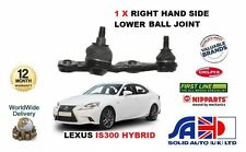 FOR LEXUS IS300 HYBRID 2013-  NEW RIGHT HAND SIDE LOWER BOTTOM BALL JOINT