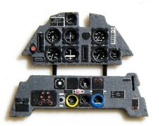 MESSERSCHMITT Bf 109 E ARMATURENBRETT / INSTRUMENT PANEL #4802   1/48 YAHU