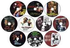 10 x DVD Horror Film Collection: Vincent Price, Christopher Lee, Peter Cushing..