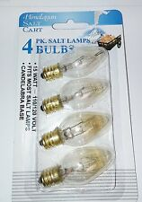 4-pack Himalayan Salt Lamp Bulbs 15 Watt 15W   4-15WCARD