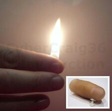 FLAMING THUMB TIP FIRE STAGE STREET FLAME MAGIC TRICK THUMBTIP LIGHT CLOSE UP