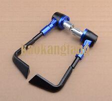 Blue Brake clutch levers guard bar end for Yamaha YZF R1 R6 R15 R125 R25 R3