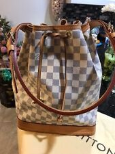 AUTHENTIC LOUIS VUITTON NOE DAMIER AZURE HOBO Bag NO RESERVE!!!