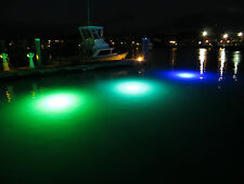 1 (60 watt) 2600 Lumens (Green) 360 degree Led Underwater dock light