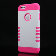 Heavy Duty Armor Defender Shockproof Case Cover for Apple iPhone 6S PLUS & flim