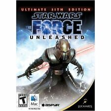 Star Wars The Force Unleashed Mac New in Box