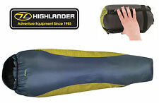 Highlander Travel Ultra Lite Mummy Compact Lightweight Voyager Sleeping Bag New