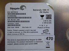 250 GB Seagate ST3250820AS | PN: 9BJ13E-065 | FW: 3.AAD | 6QF | SU | PCB OK #470