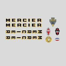 Mercier Bicycle Frame Stickers - Decals - Transfers n.13