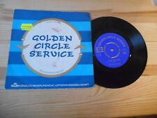 """7"""" Werbe KLM Luftverkehrsgesellschaft -Golden Circle Service PRIVAT PRESS"""