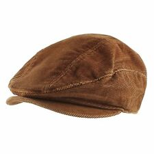Corduroy Cotton Newsboy Cabbie Cap Hat Mens Womens Unisex Warm Daily Casual