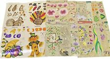 16 RTG Reusable Teaching Guides One Stroke Donna Dewberry Flowers,Roses,Leaves +