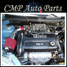 RED 2004-2008 CHEVROLET AVEO 1.6 1.6L AIR INTAKE KIT INDUCTION SYSTEMS