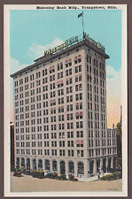 Mahoning Bank Building Youngstown Ohio c1920s Postcard