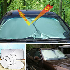 Car Auto 6 Pcs Reflective Window Sun Shade Sunshade Shield Cover Visor UV Block