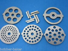 6 pc. SET Meat Grinder plate disc and knife for electric Kalorik Oster