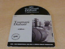 TOUMANI DIABATE - THE MANDE VARIATIONS - RARE PROMO DVD!!!!INTERVIEW!!!