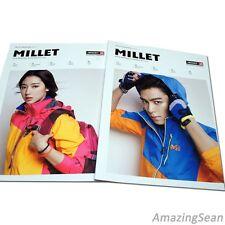 TOP, Park Shin Hye Photo Book, MILLET 2014 Collection Book,Korean Fashion Book,
