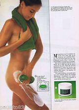 PUBLICITE ADVERTISING 065 1981 ELANCYL pour le corps