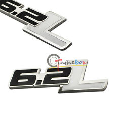 1PC For Ford F-150 2014 6.2L Displacement Car Rear Fender Trunk Sticker Emblem
