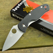 Spyderco Persistence G-10 8Cr13MoV Folding Linerlock Knife C136GP