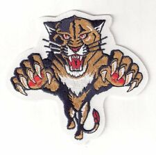 "Florida Panthers 4.25"" x 4.5"" Sew Ironed On Badge Embroidery Applique Patch"