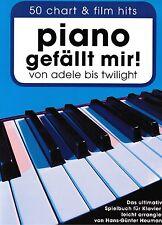 Klavier Noten : Piano gefällt mir - 50 CHART und FILM HITS von ADELE - TWILIGHT