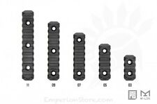 PTS M-LOK Enhanced Rail Section 5 Slots PT137450307 20mm Rail Slitta MLok