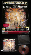 STAR WARS EPISODIO I LA MINACCIA FANTASMA 1 Pc Vers Italiana Big Box •• COMPLETO
