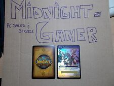 World of Warcraft TCG Drums of War - Loot Card - Slashdance - UNSCRATCHED x 5