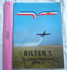 Yugoslavia army JNA sport championship newsletter book,military flag,coat of arm