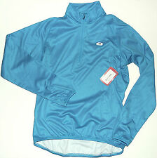 NEW Sugoi Neo Long Sleeved Jersey M Cyan Turquoise NWT Running Cycling Ski Sport