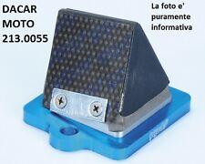 213.0055 VALVOLA LAMELLARE MAGGIORATA POLINI GILERA POGGIALI - STALKER 50