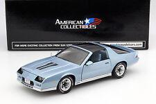 Chevrolet Camaro z/28 año de fabricación 1982 azul pálido 1:18 Sunstar
