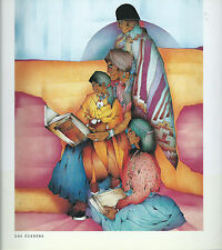 Amado M. Pena,Jr.-,Native American Family Storytime--Southwest Art Print