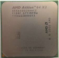 AMD Athlon 64 x2 6400 Windsor dual-core 2x 3.2 GHz zócalo am2 125w adx6400iaa6cz