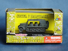 WW2 1:144 Scale Wargame Diorama German SdKfz 7 Half Track Vehicle Model NMT 426