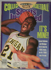 1989 SPORTS ILLUSTRATED RUMEAL ROBINSON MICHIGAN COLLEGE BASKETBALL PREVIEW