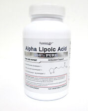 Superior Labs 100% Pure Alpha Lipoic Acid 600 mg - 120 capsules [VS-A-S]