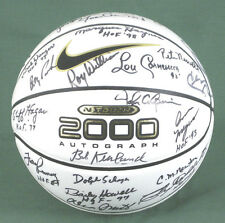 HALL OF FAME BASKETBALL - BASKETBALL SIGNED WITH CO-SIGNERS