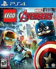 LEGO Marvel's Avengers (Sony PlayStation 4, 2016) PS4 iron man hulk civil war