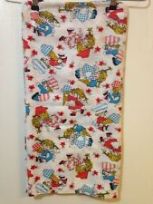 Vintage Red Blue Kids Ice Cream Cone Thin Small Blanket 45x35.5
