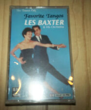Les Baxter - For Dancers Only: Favorite Tangos 1992 Cassette SEALED Easy Listen